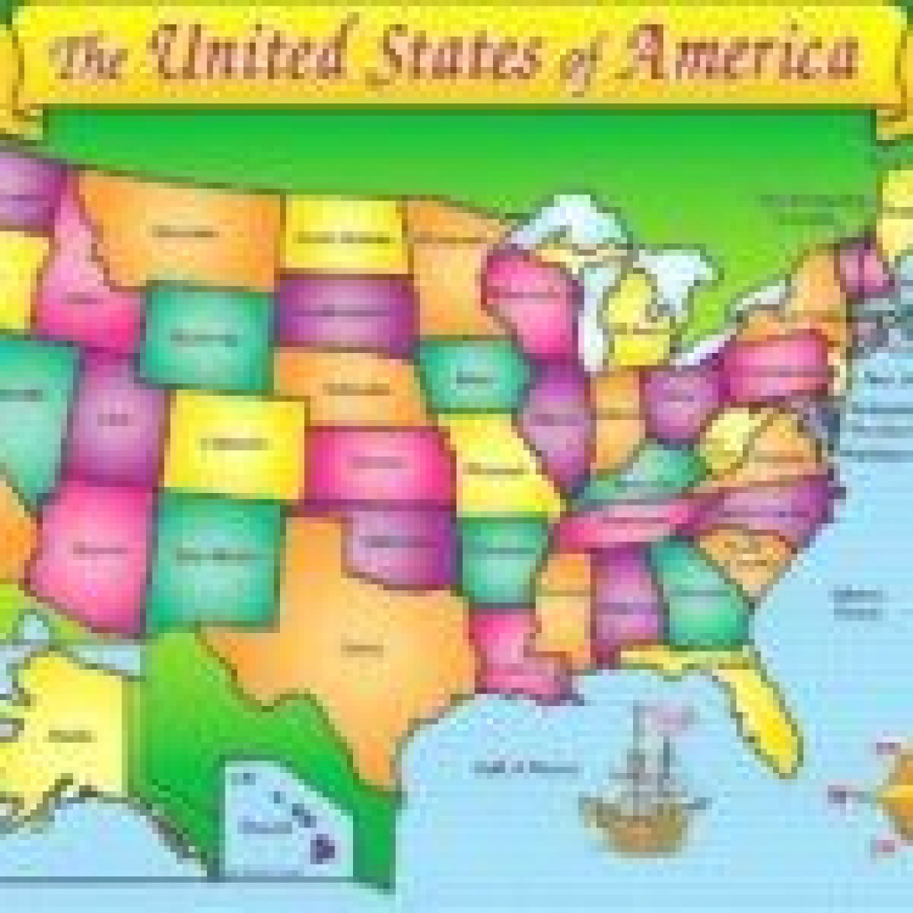 Kid Friendly Map Of The United States - Happyparentsday2017 with United States Map Kid Friendly