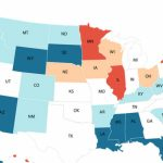 Kiplinger Releases Annual List Of Most And Least Tax Friendly States Inside Tax Friendly States Map