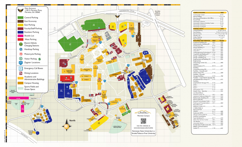 Ksu | Campus Maps throughout Central State University Campus Map