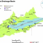 Lake Erie Drainage Basin Map   Canada.ca With Map Lake Erie Surrounding States