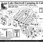 Lake Hartwell Camping And Cabins Intended For Lake Hartwell State Park Campground Map