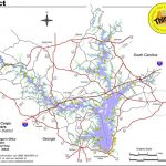 Lake Hartwell   Maplets Inside Lake Hartwell State Park Campground Map