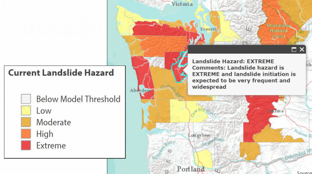 Landslides | | Masonwebtv within Washington State Mudslide Map