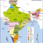 Languages In India   Map, Scheduled Languages, States Official Within States Of India Map Game