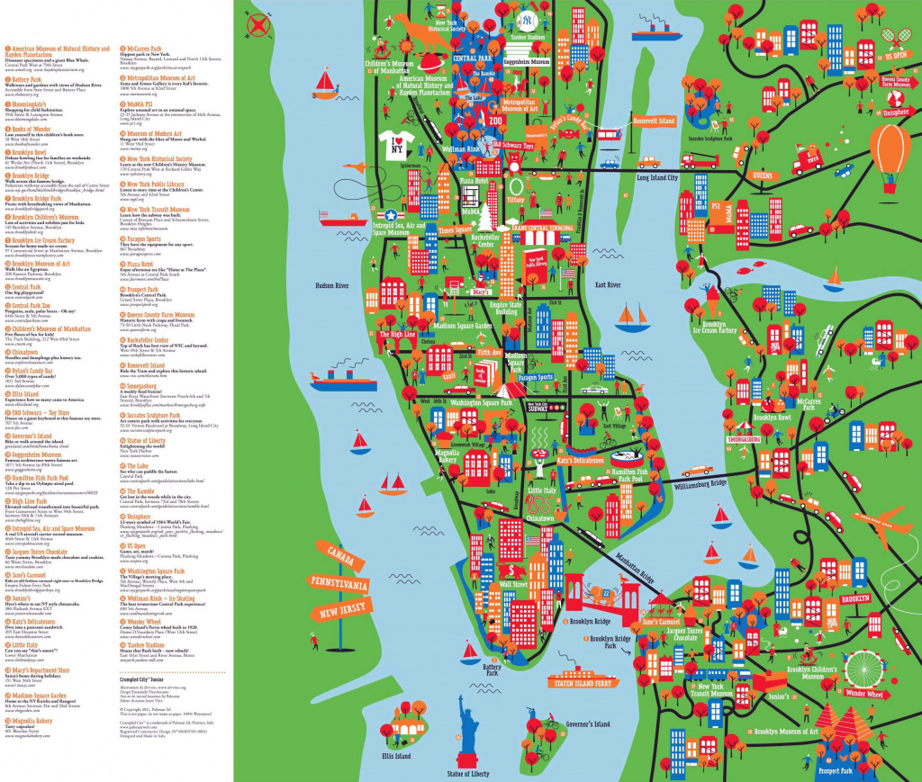 Large Detailed New York Tourist Attractions Map. New York Large throughout New York State Tourism Map