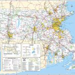 Large Scale Detailed Roads And Highways Map Of Massachusetts State Inside Massachusetts State Parks Map