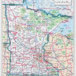 Large Scale Roads And Highways Map Of Minnesota State With National For Mn State Map Of Cities