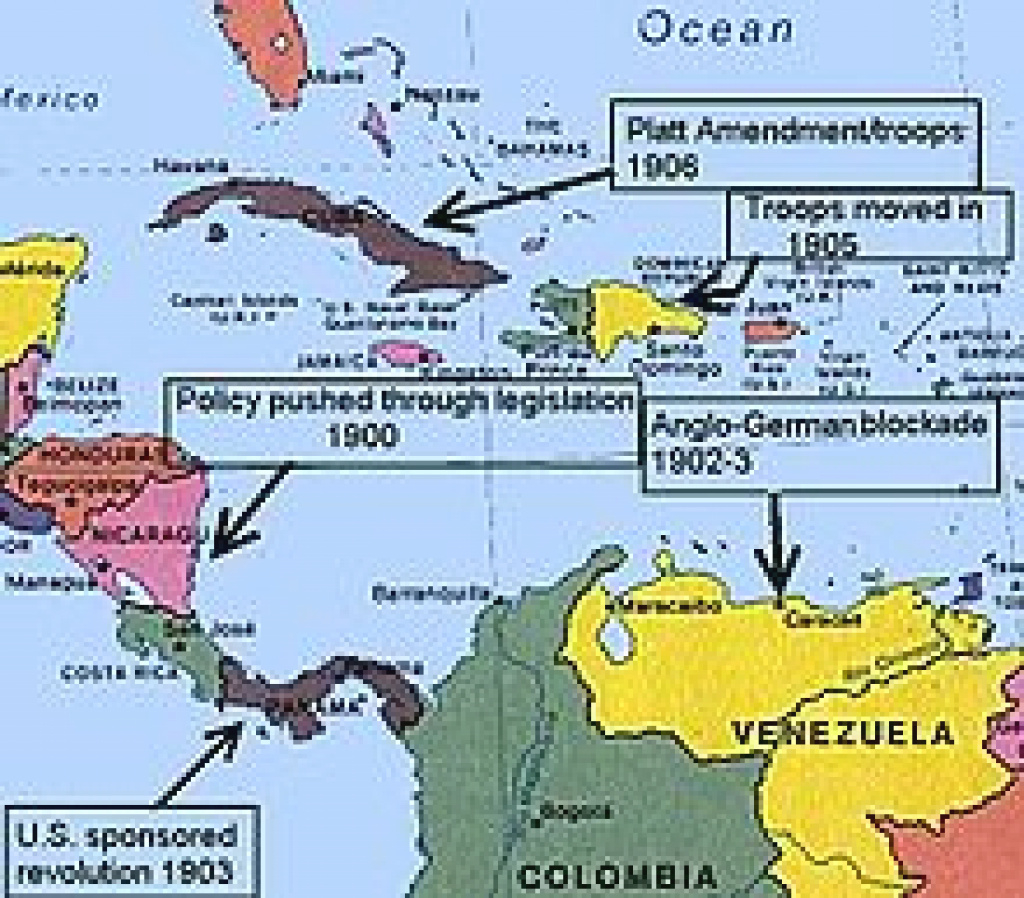 Latin America–United States Relations - Wikipedia with regard to Dominican Republic Map United States