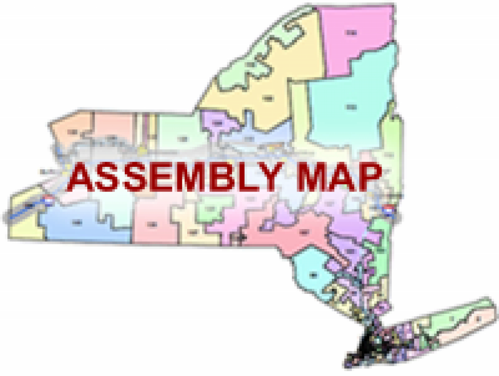 Legislative Districts regarding New York State Assembly District Map