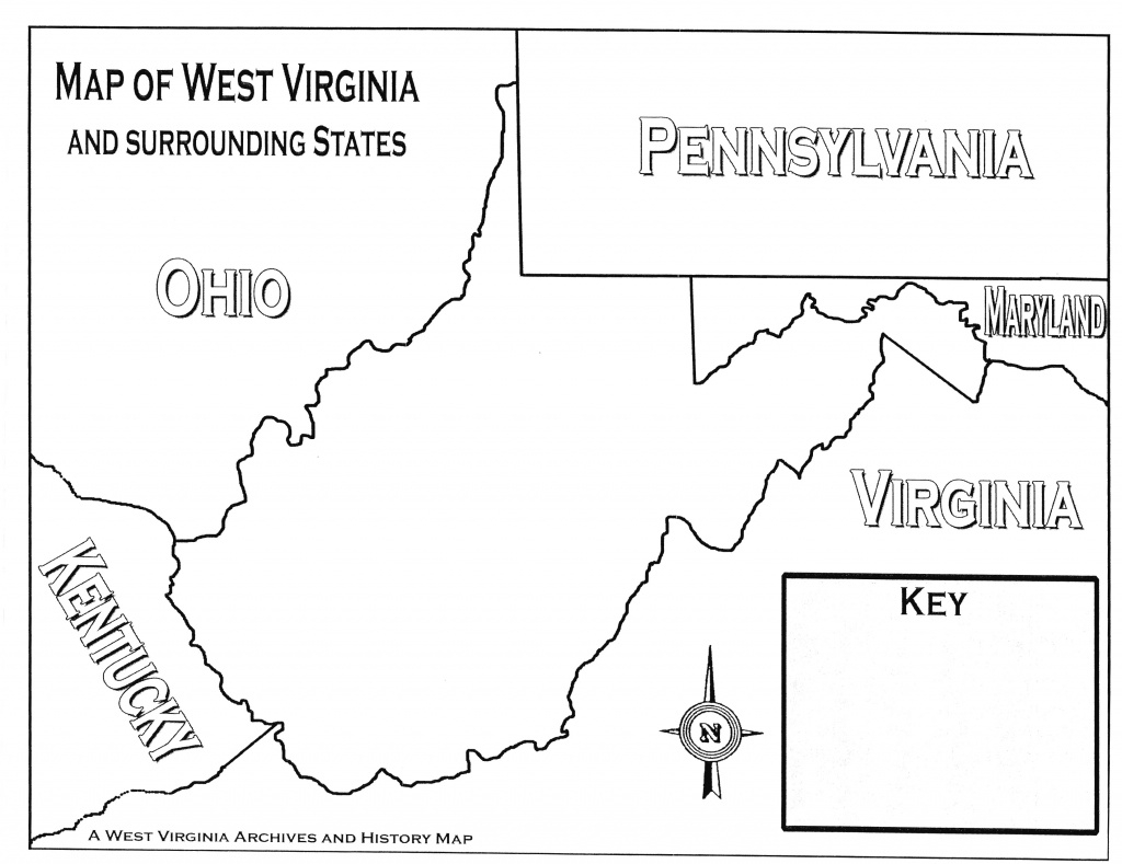 Lesson Images with regard to Map Of Virginia And Surrounding States
