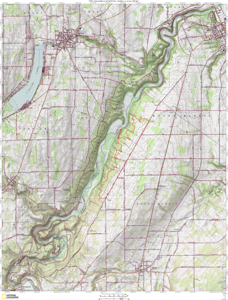 Letchworth State Park Trail Review Page in Letchworth State Park Trail Map