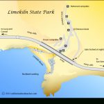Limekiln Beach   California's Best Beaches Inside Limekiln State Park Campground Map