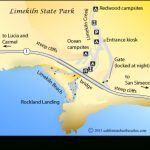Limekiln Beach   California's Best Beaches   Mobile Regarding Limekiln State Park Campground Map