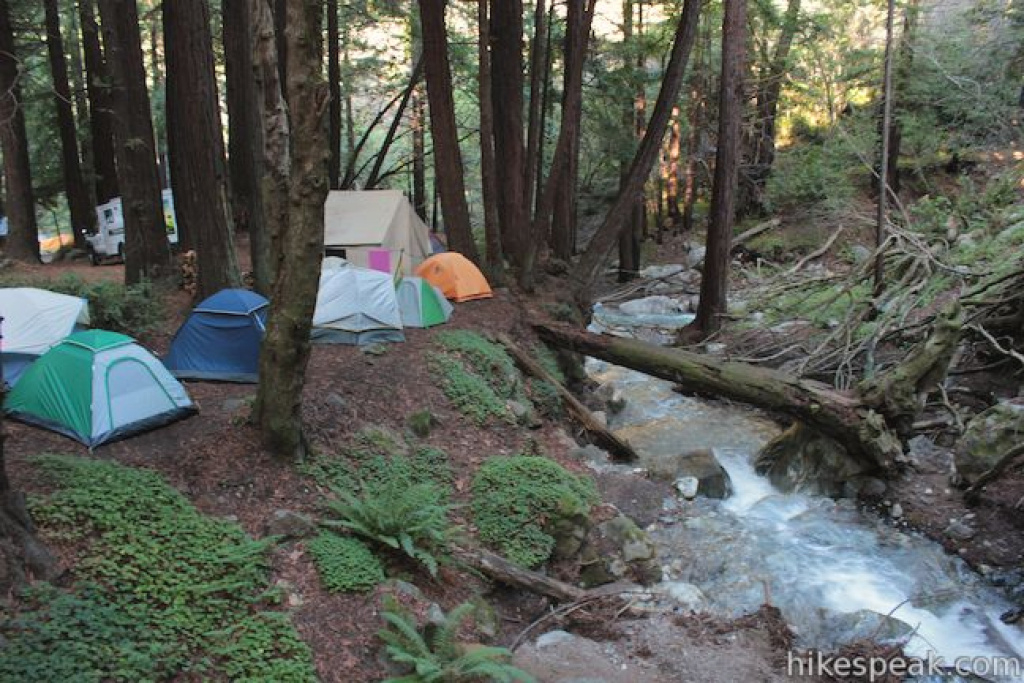 Limekiln State Park Campground| Big Sur | Hikespeak with Limekiln State Park Campground Map