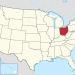 List Of Cities In Ohio   Wikipedia With Regard To Ohio State Map Images