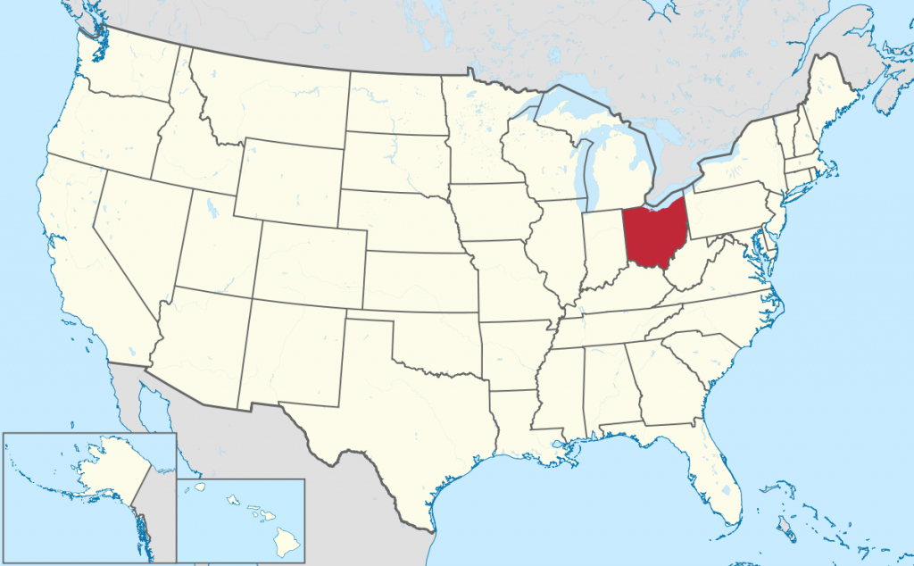 List Of Cities In Ohio - Wikipedia with regard to Ohio State Map Images