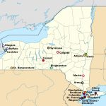 List Of College Athletic Programs In New York   Wikipedia In State University Of New York Map