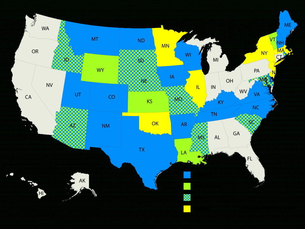 List Of Compact And Walk-Through States That Work With Your Nursing in Nursing Compact States Map
