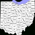 List Of Counties In Ohio   Wikipedia With Regard To State Of Ohio County Map Pdf