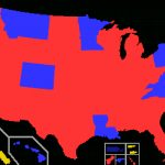 List Of Current United States Governors   Wikipedia Inside Red States Map 2015