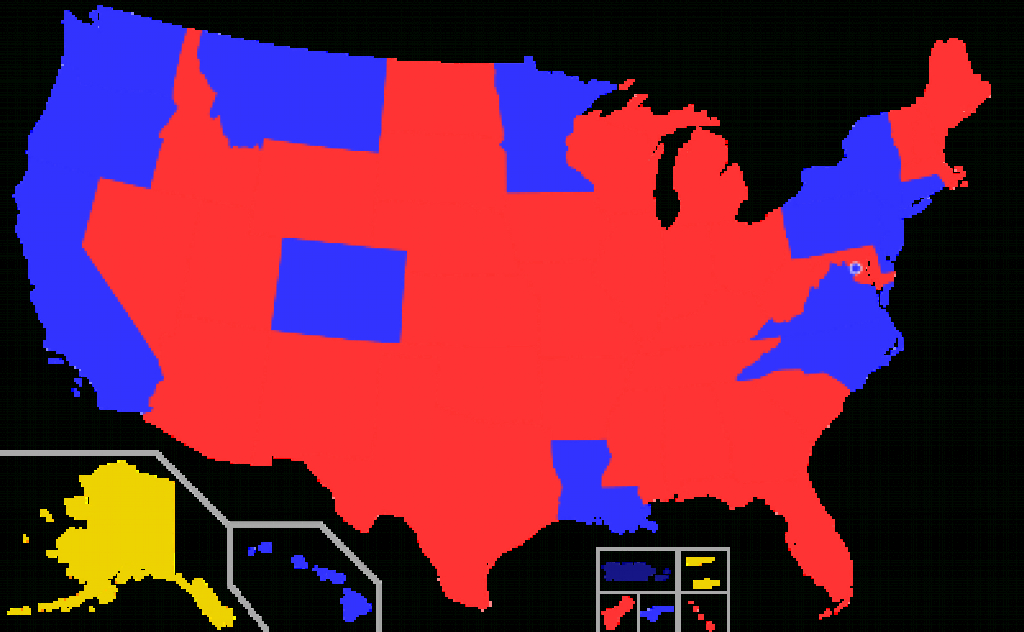 List Of Current United States Governors - Wikipedia inside Red States Map 2015