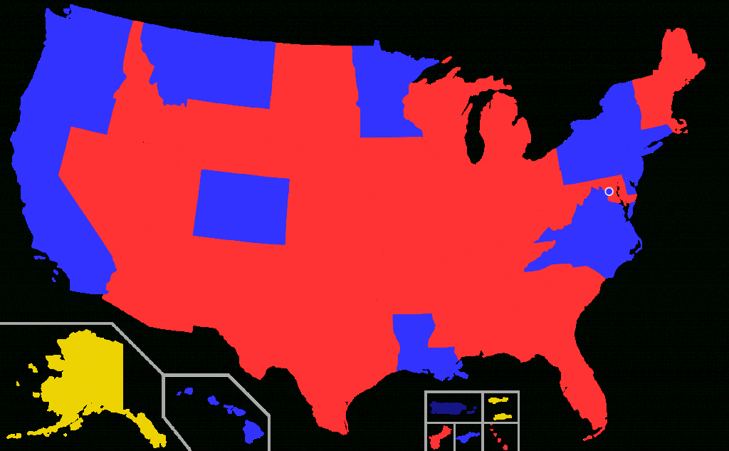 List Of Current United States Governors - Wikipedia regarding Red States Map 2015
