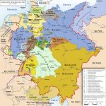 List Of Historic States Of Germany   Wikipedia Throughout German States Map 1850