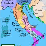 List Of Historic States Of Italy   Wikipedia Intended For Italian States Map