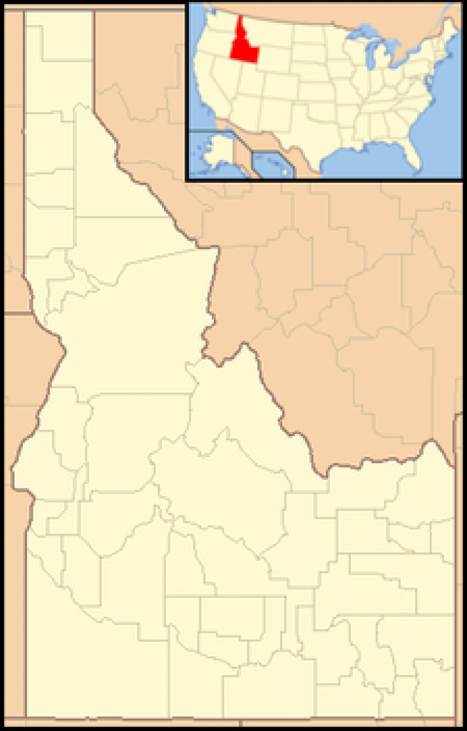 List Of Idaho State Parks - Wikipedia throughout Idaho State Parks Map