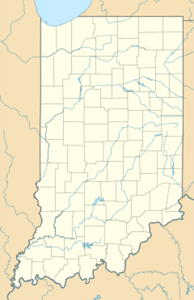 List Of Indiana State Parks - Wikipedia with regard to Indiana State Park Lodges Map