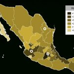 List Of Mexican Statespopulation   Wikipedia Pertaining To Map Of Mexico And Its States