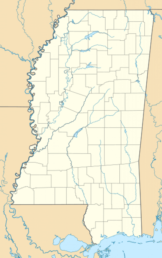 List Of Mississippi State Parks - Wikipedia with Mississippi State Parks Map