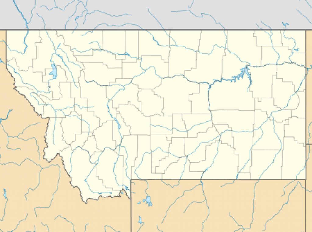List Of Montana State Parks - Wikipedia pertaining to Montana State Parks Map