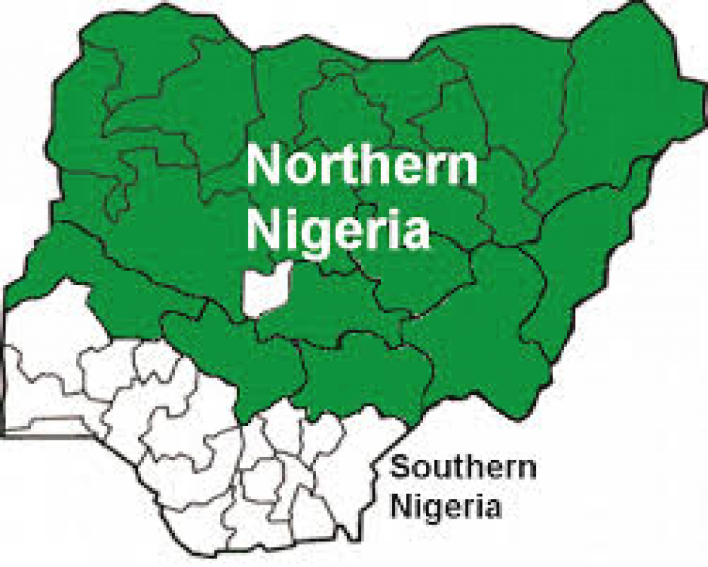 List Of Northern States In Nigeria - Nigerian Infopedia with Northern States Map