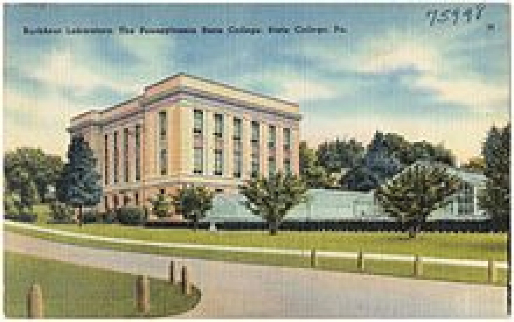 List Of Penn State Academic Buildings - Wikipedia within Hosler Building Penn State Map
