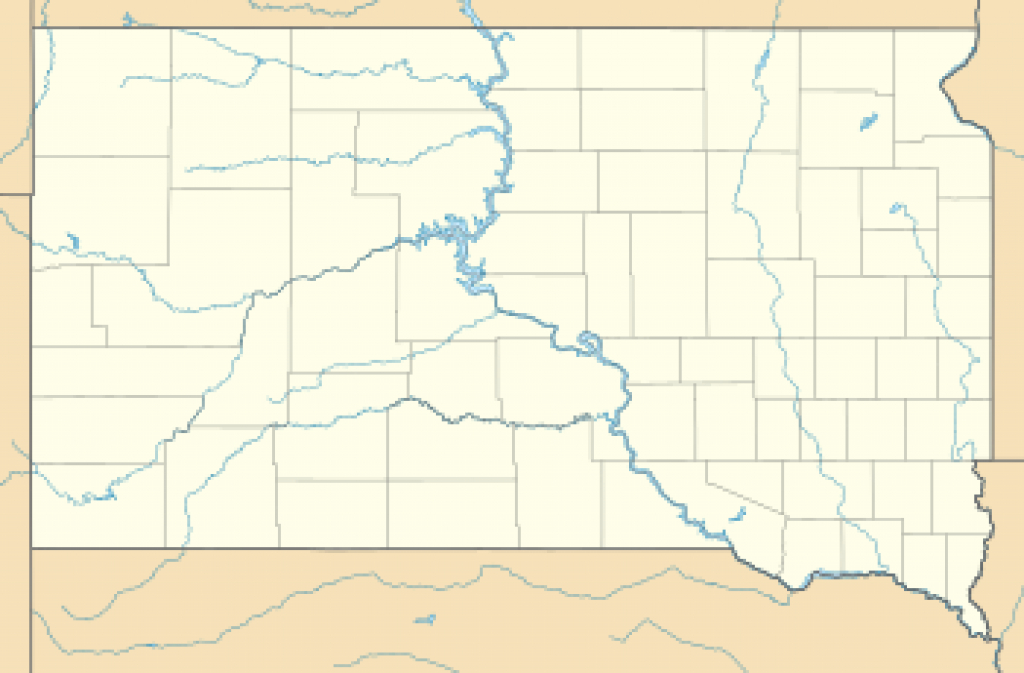 List Of South Dakota State Parks - Wikipedia for South Dakota State Parks Map