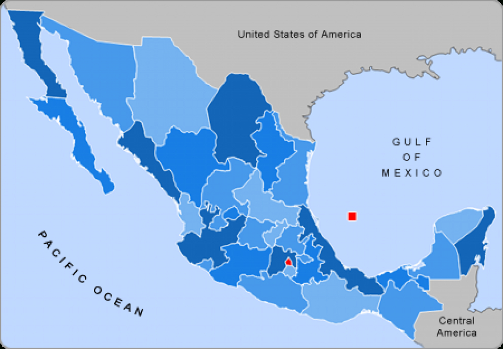 List Of States Of Mexico - Wikipedia within Map Of Mexico And Its States