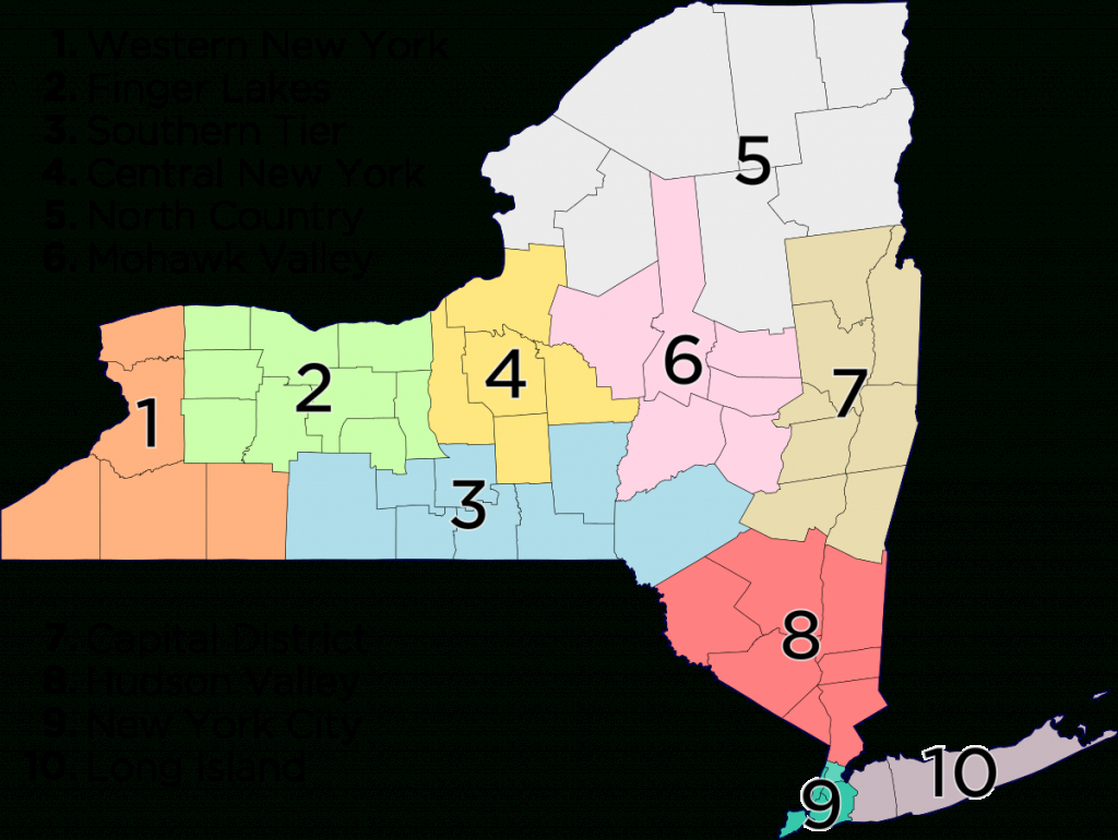 List Of Towns In New York (State) - Wikipedia inside New York State Airports Map