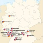 List Of United States Army Installations In Germany   Wikipedia Intended For Military Bases United States Map