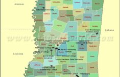 List Of Universities In Mississippi | Map Of Mississippi Colleges with regard to State College Zip Code Map