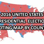 Live Map United States 2016 Presidential Election Voters Party Pertaining To Blue States Map