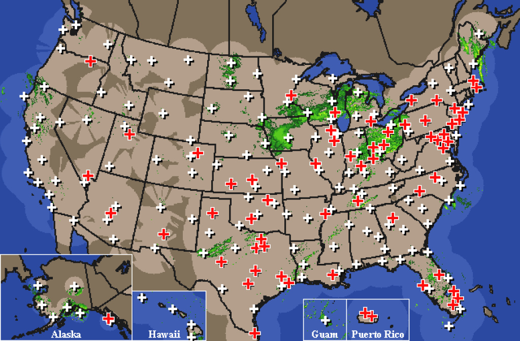 Liveweatherfeeds Map Of Us Springs United States Weather Radar Map inside United States Radar Map