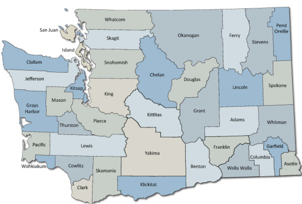 Local Health Departments :: Washington State Department Of Health inside Washington State Flu Map