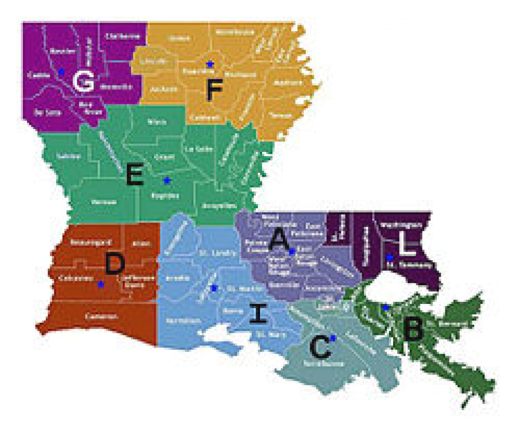 Louisiana State Police - Wikipedia pertaining to Pa State Police Troop Map