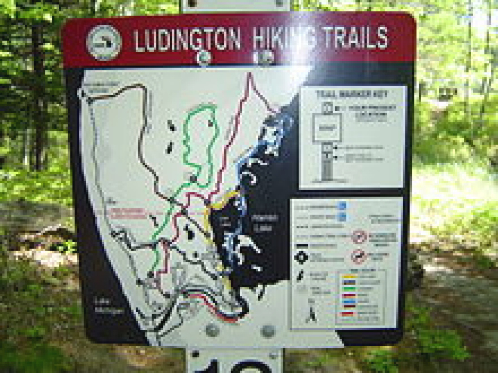 Ludington State Park - Wikipedia with Ludington State Park Trail Map