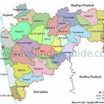 Maharashtra Map And Maharashtra Districts Map Inside Physical Map Of Maharashtra State
