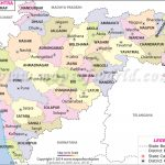 Maharashtra Map, Districts In Maharashtra In Physical Map Of Maharashtra State