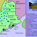 Maine For Kids: Maps   Facts   Activities « For State Map For Kids