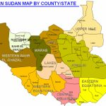 Making Sense Of Riek Machar's Proposed 21 States For A Federal South In Map Of South Sudan States And Counties