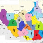 Making Sense Of Riek Machar's Proposed 21 States For A Federal South Intended For Map Of South Sudan States And Counties